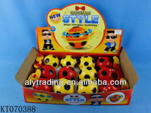 Aly Hot Sale Plastic Flashing Football Peg-top Toy