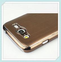 PC chrome metal cover case for samsung galaxy grand duos i9082