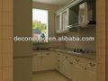 pvc moda estilo europeu armários de cozinha