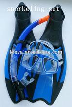 scuba diving gear /equipment/ diving mask diving snorkel diving fin set MSF2174619