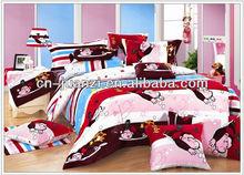 comfortable adult cartoon bedding set quilt cover