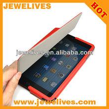 Newest leather cover for ipad mini case/ case cover for ipad mini wholesale