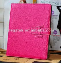 Tablet case cover luxury card slots folio leather case for ipad mini, for ipad case card slots ,for ipad mini case