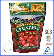 Food grade dry fruit bag and nut packaging