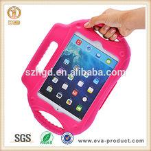 shock proof EVA case for ipad mini, rubberized case for ipad mini