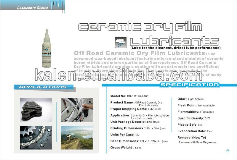 Off Road Ceramic Dry Film Lubricants
