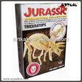brinquedoseducativos presentes dinossauros fósseis de escavação dig it out kit