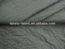 crinkle taslon/320d nylon taslon/emergency clothes fabric/ 228T Crinkle Nylon Taslon/ Sportswear/Jackets Shell Fabric Material