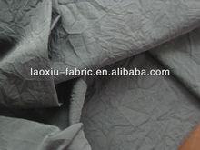 Crinkle taslon/320T taslon/emergency clothes fabric/ 228T Crinkle Nylon Taslon/ Sportswear/Jackets Shell Fabric Material