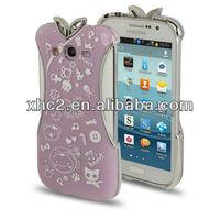 i9082 Cheongsam Style Flower Pattern Plastic Protective Case