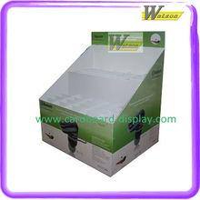 Floor standing cardboard Cellular display for super market retails