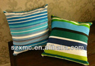 Mediterranean canvas style recliner chair cushion