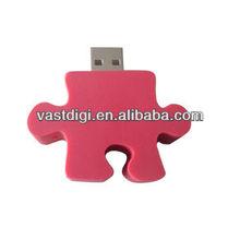 PCV Puzzle Usb Stick With Custom Logo