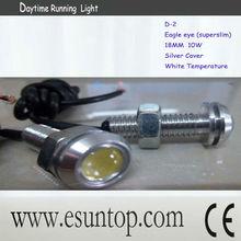 NEW! Universal auto headlight 10W super slim LED White High Power Eagle Eye daytime running light