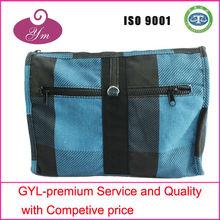 2013 complicated designer organic cotton cosmetic bag