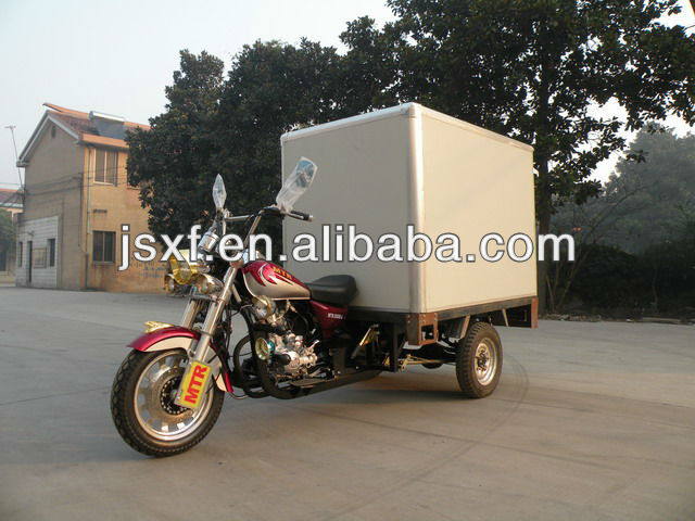 150CC/200CC/250CC Cargo tricycle,Three wheels motorcycle/Insulation tricycle/Container box tricycle