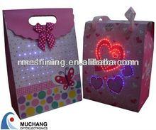 Lighting music bag with optics from China