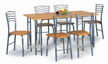 wooden table top dining table sets