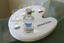 decorative acrylic service trays