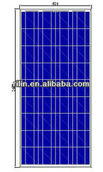 High efficient with CE RoHS ISO certification 150W Poly PV Solar Panel