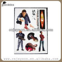 Hot sale magnet puzzle fridge magnets for good promotional