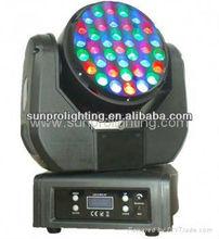 Big discount!!! 37*3w rgb outdoor lamp automatic illumination