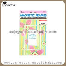 Printing Paper Fridge Magnet,Magnetic Photo Frame For Promotional