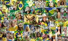 2014 World cup football fans supplies Hats scarf t-shirts flags wigs sunglasses Accessories