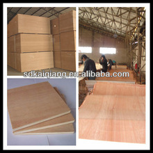 commercial plywood popular and hot sell 1.4-3.2mm white/little blue/green color melamine plywood for Indonesia market