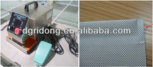 Welding Chemical fiber drapery with hemming pocket high-performance Long using life mini-style hand holdshower curtain hot wel