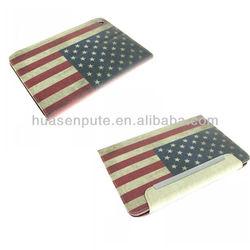 New Arrival For Ipad mini Case Leather Retro Flag