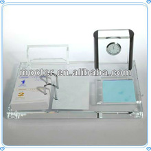 Wholesale Glass Office Stationery Set for Deck Favor Decoration