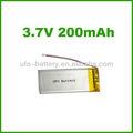 3.7v 200 mah batería de litioion de 12v para productos digitales