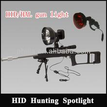 Outdoor hunting gun accessories Rifle Scope mount light 35-100W xenon light source