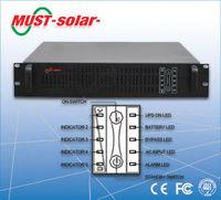 <MUST Solar>1kva 2kvaz 3kva 6kva 10kva rack mount online ups with RS232