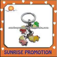 Zodiac Metal Promotional Key Ring Circle