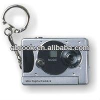 300K pixels cheap drivers mini digital camera with keychain,1.3M pixel by interpolation