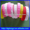 Custom Embossed Cartoon Silicone Wrist Bands