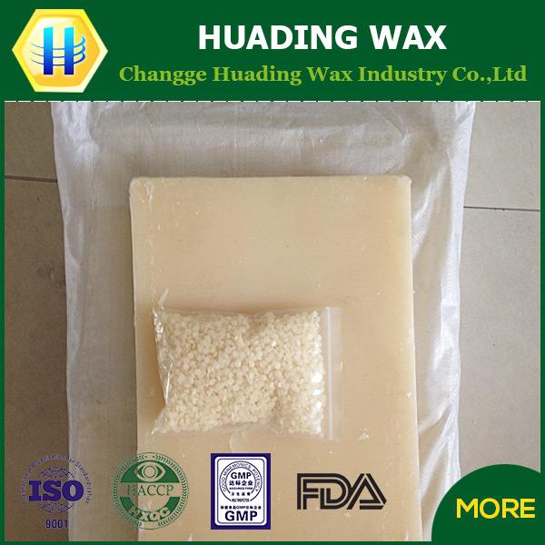 supply hot wax raw material comstic grad microcrystalline wax