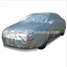 Silver aluminum foil+ foam padded heat insulated car cover