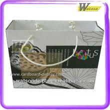 Custom graphic paper shopping bag