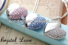 heart jewelry usb flash