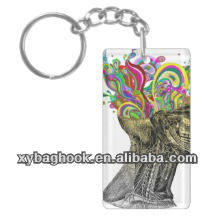 2013 new promotional soft led projector promotional keychain logo projector keychain