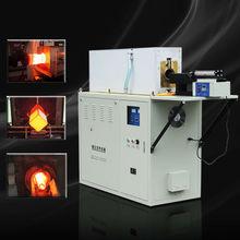 30-50mm steel bar heating medium frequency industrial induction heater