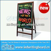 2013 new portable outdoor bulletin board