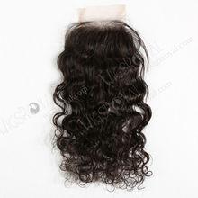 buy hot sale 3.5*4 swiss lace brazilian curly weave closure