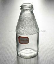 Clear 350ml Glass water Bottle