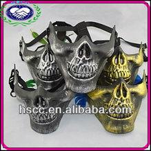 half face CS Skeleton PVC halloween army of two mask
