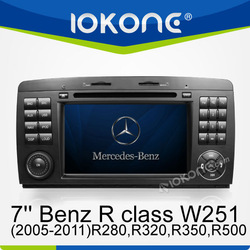 GPS NAVIGATION SYSTEM for Mercedes-Benz R class W251(2005-2011)R280,R320,R350,R500