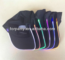 LPH-0067 Light up baseball cap for party